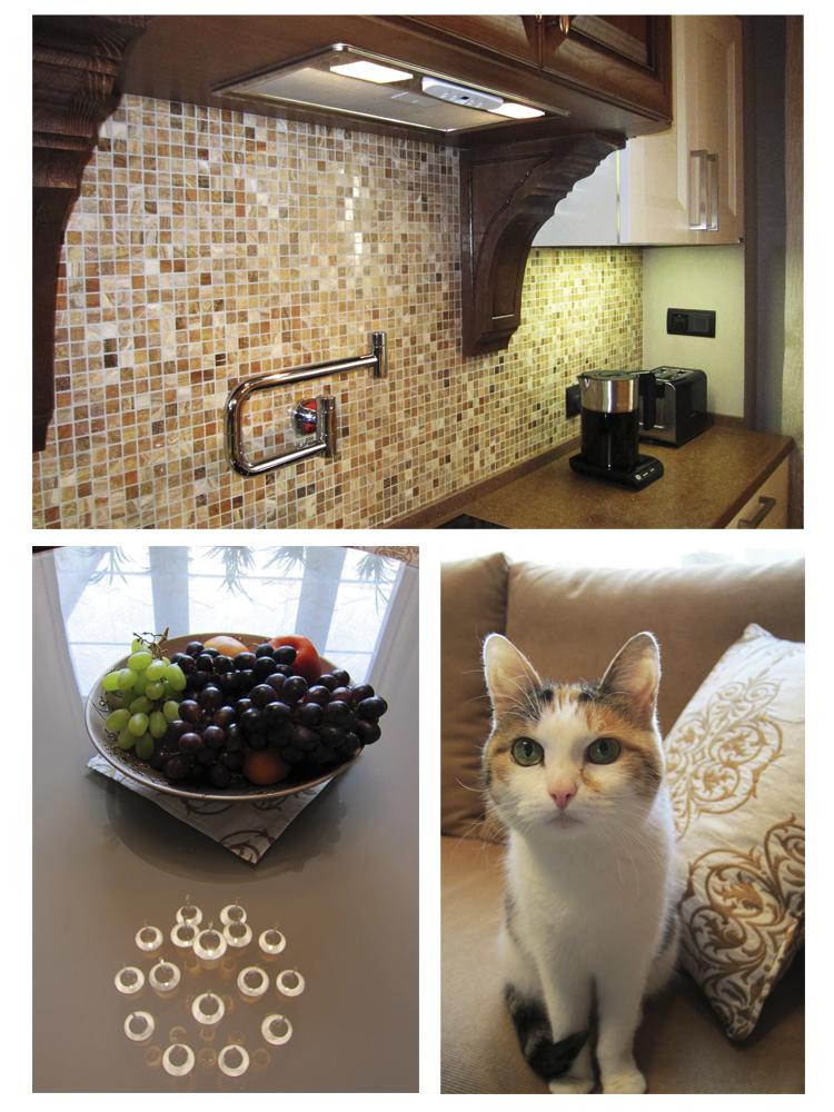 Дизайн комнат обои двух видов фото