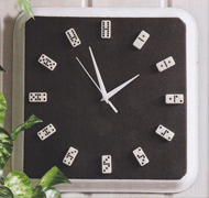 Часы-домино мастер-класс