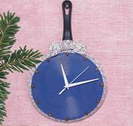 Часы-сковорода мастер-класс