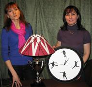 Лампа и часы для футболиста мастер-класс