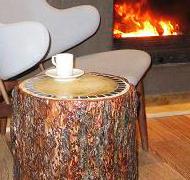 Пенек - кофейный столик мастер-класс